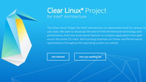 An Overview of Intel's Clear Linux, its Features and Installation Procedure
