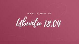 Ubuntu 18.04 LTS Release Date, New Features and Upgrade Procedure