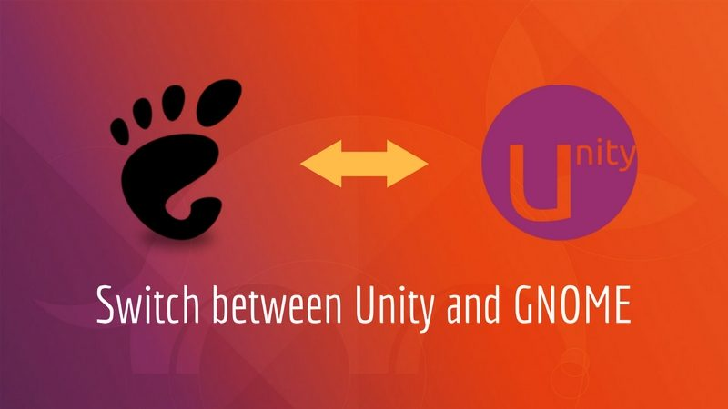 How to switch to Unity from GNOME in Ubuntu 17.10