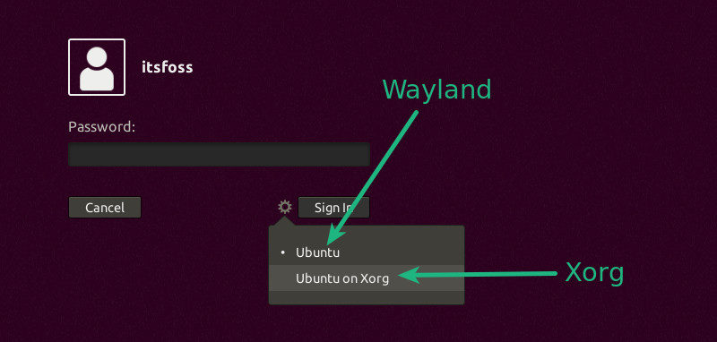 Switch to xorg display server from Wayland
