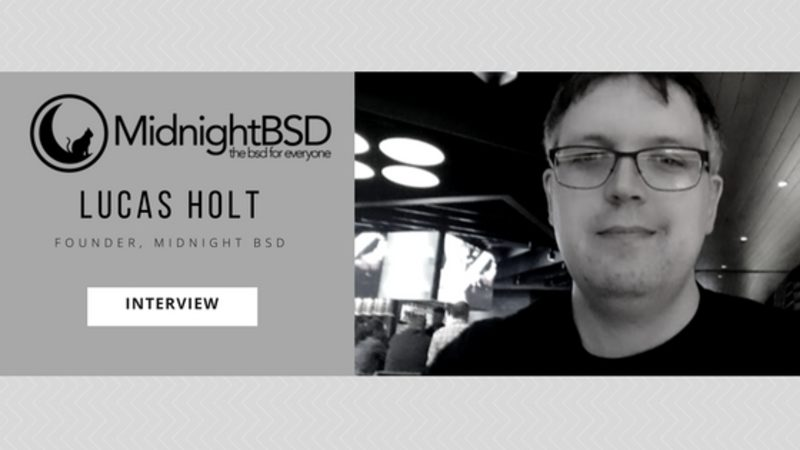 MidnightBSD Founder Lucas Holt Interview