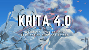 Krita Version 4.0 Released With Improved Vector Tools