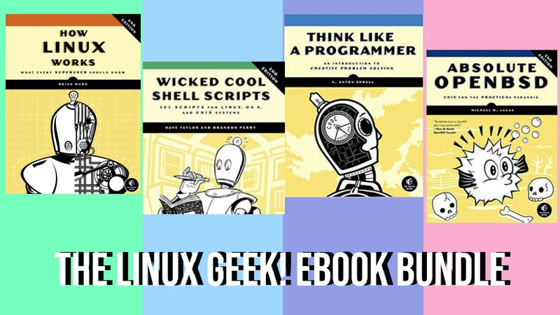 Get premium linux ebooks worth 571 for 1 humble bundle deal linux book deal from humble bundle fandeluxe Images