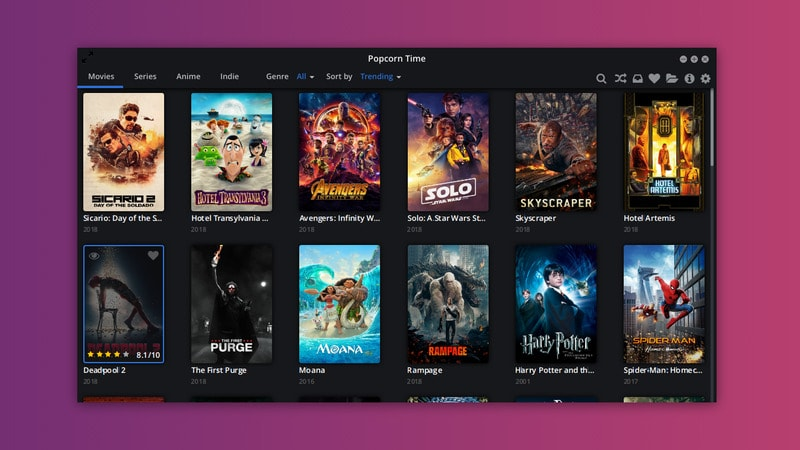 How to Install Popcorn Time on Ubuntu 18 04 and Other Linux