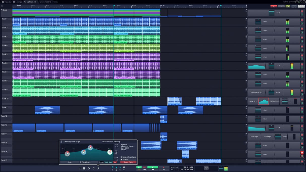 Tracktion's T7 DAW