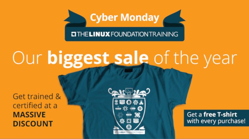 Linux Foundation Cyber Monday offer