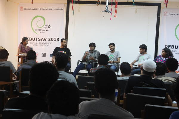 Panel discussion on FSCI and Debian India