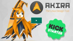 Akira design tool for Linux has launched a crowdfunding campaign