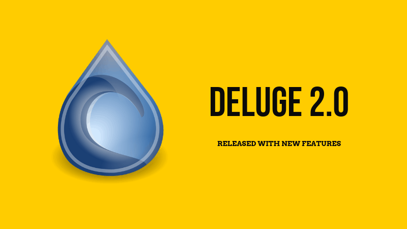 BitTorrent Client Deluge 2 0 Released: Here's What's New - It's FOSS